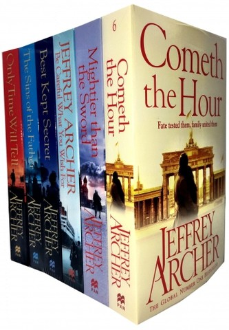 The Clifton Chronicles Series Jeffrey Archer Collection 6 Books Set (Book 1-6)