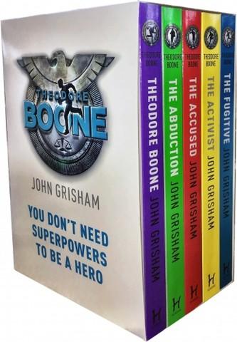 John Grisham Theodore Boone Series Collection 5 Books Box Set