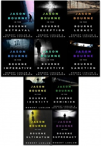 The Bourne Series Collection Robert Ludlum 10 Books Set