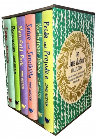 The Jane Austen Collection 6 Books Box Set (Sense and Sensibility, Emma, Persuasion, Mansfield, Pride and Prejudice, Northanger Abbey)