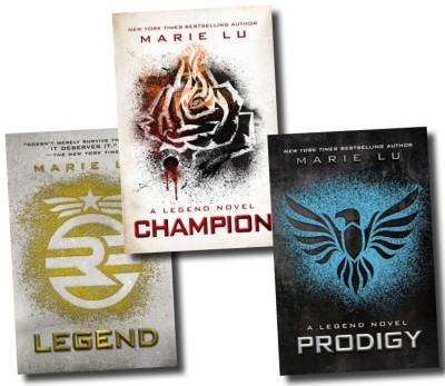 Marie Lu The Legend Trilogy 3 Books Collection Set (Legend, Prodigy, Champion)