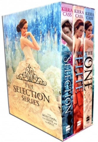 The Selection Collection Kiera Cass 3 Books Box Set