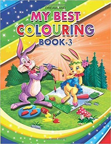 My Best Colouring Book - 3