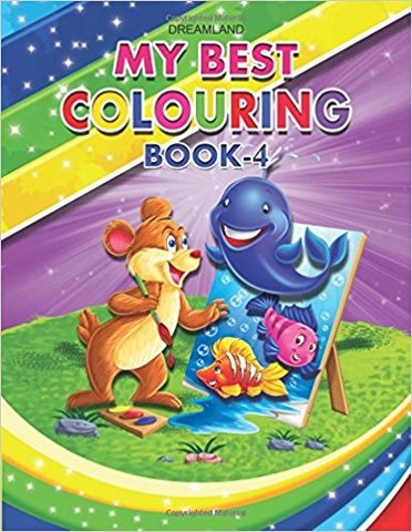 My Best Colouring Book - 4