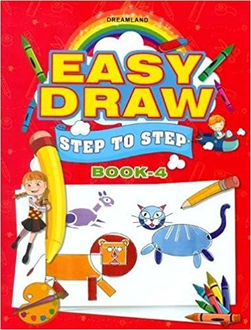 Easy Draw ...Step by Step Book - 4