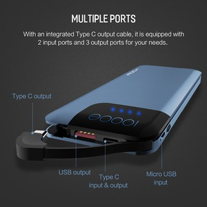 Rock P40 10000mah Quick Charging 3.0 Powerbank