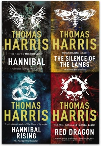 Hannibal Lecter Series Collection 4 Books Set by Thomas Harris