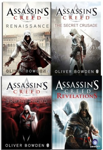 Assassins Creed Collection 4 Books Set NEW Oliver Bowden Revelations Brotherhood