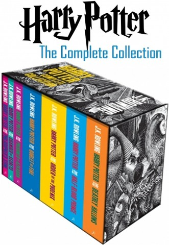 Harry Potter Book Set (Boxed Complete 7 Books Collection Set)