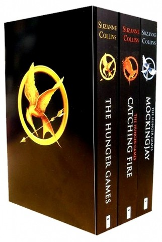 The Hunger games Trilogy Collection Suzanne Collins 3 Books Set By Suzanne Collins