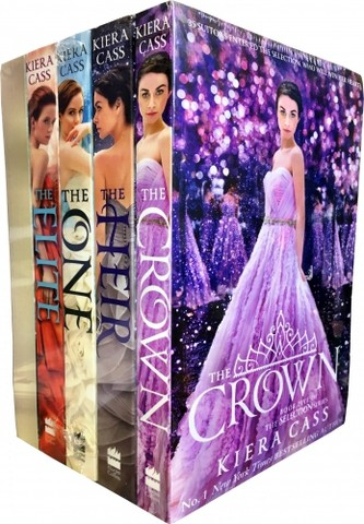 The Selection Series Collection Kiera Cass 5 Books Set, Fairy tale