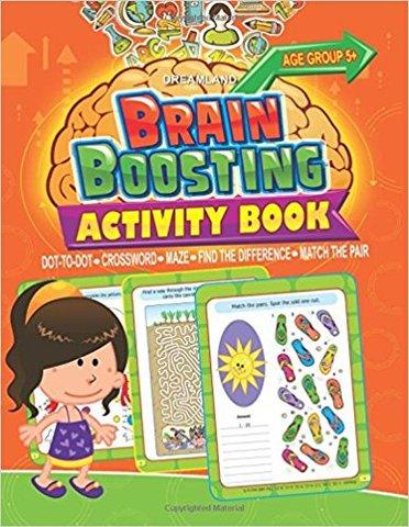 Brain Boosting Activity Book