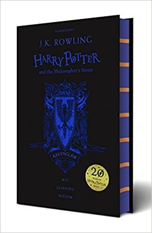 Harry Potter and the Philosopher's Stone – Ravenclaw Edition (Hardcover)