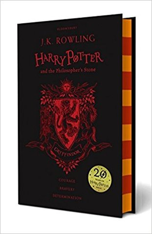 Harry Potter and the Philosopher's Stone – Gryffindor Edition (Hardcover)