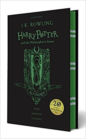 Harry Potter and the Philosopher's Stone – Slytherin Edition (Hardcover)