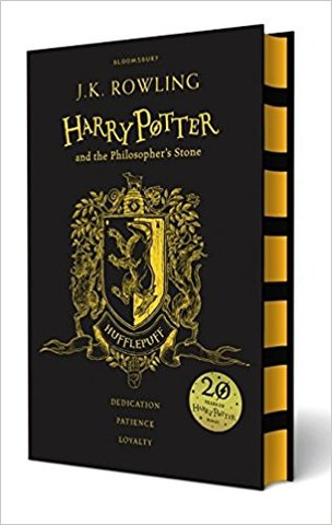 Harry Potter and the Philosopher's Stone – Hufflepuff Edition (Hardcover)