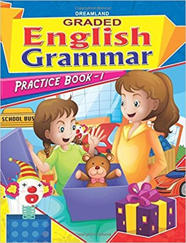 Graded Eng Grammar Practice Book - 1