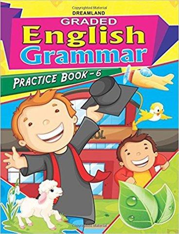 Graded Eng Grammar Practice Book - 6