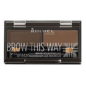 Rimmel London Brow This Way Eyebrow Kit Dark Brown