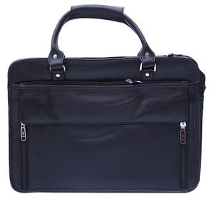 Leather Shoulder Office / Laptop Bag For Men