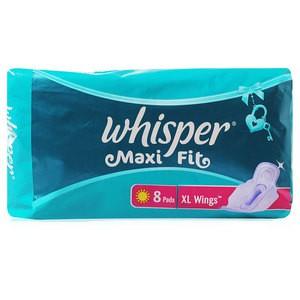 Whisper Maxi Sanitary Pad 8'S