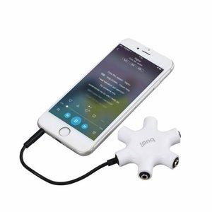 Budi 3.5mm Headphone Splitter 5 in 1 Audio Splitter