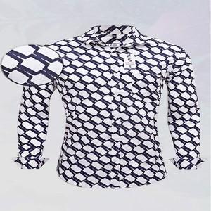 Izod Blue Print Slim Fit Casual Shirt