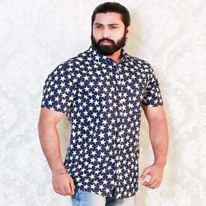 U.S. Polo White Print Slim Fit Casual Shirt