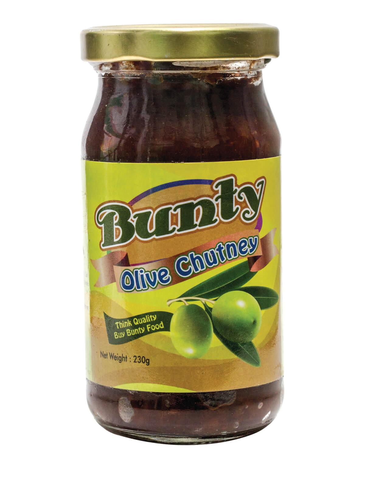 Bunty Olive Chutney 230 gm