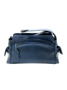 Regal Blue Colour Single strap Shoulder Handbag For Women