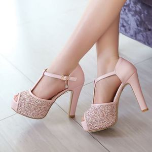 Lovebite women quality high heel sandals fashion dress sexy shoes platform heels