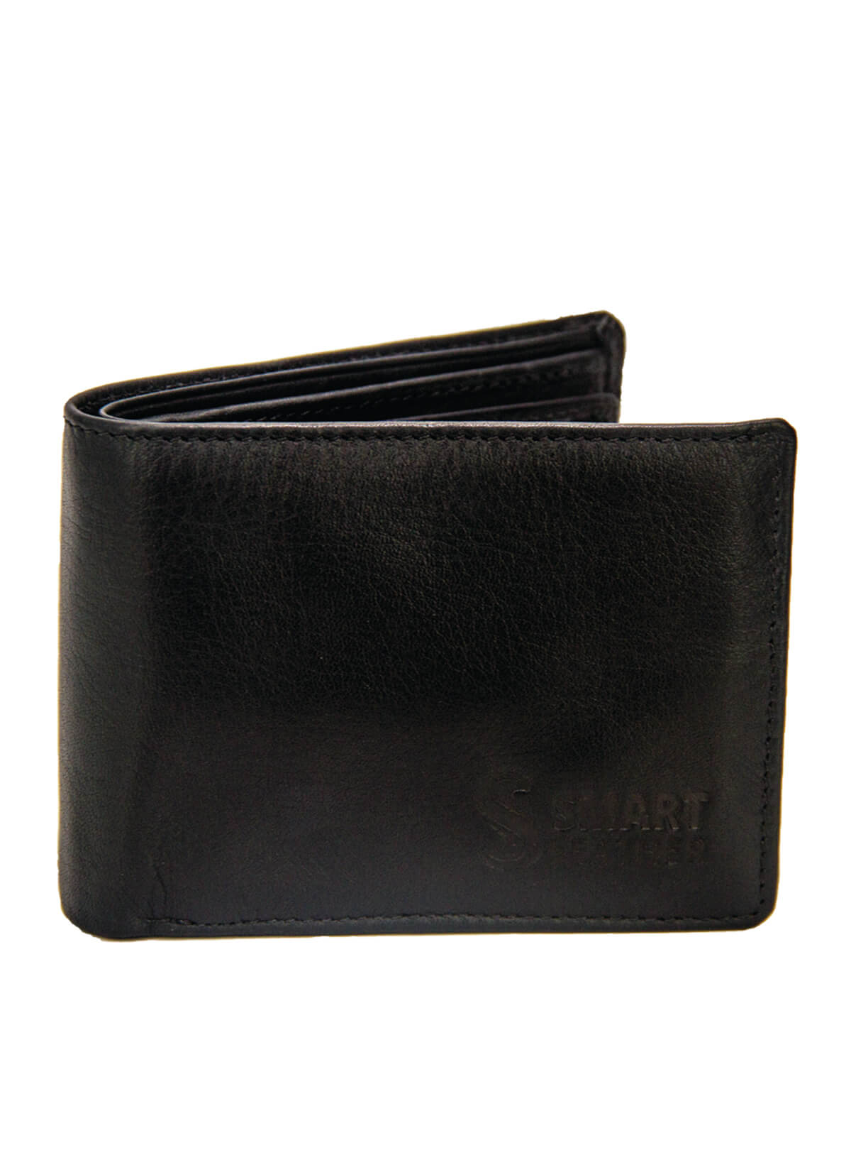 Midnight Moss Leather Wallet For Men