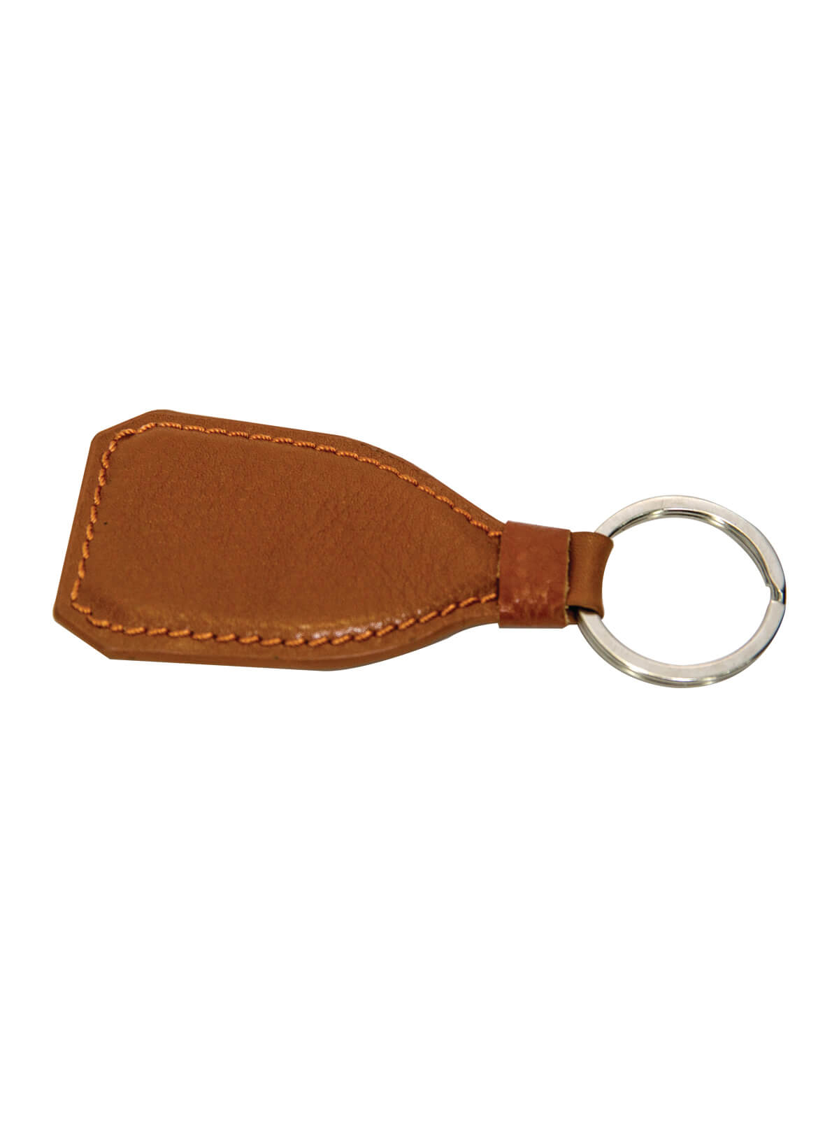 Brown Leather Key Ring For Men