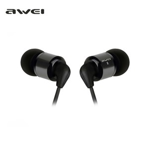 Awei ES-600M - Headphone - Black
