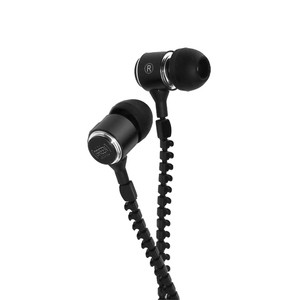 Zipper Headphone - Black