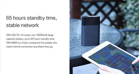 ZMI 4G Pocket Wifi Router & 10000mAh Powerbank