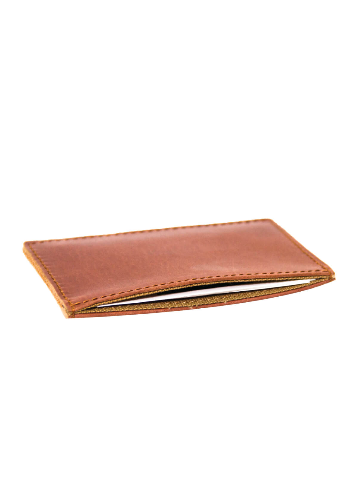 Contessa Red Leather Card Holder
