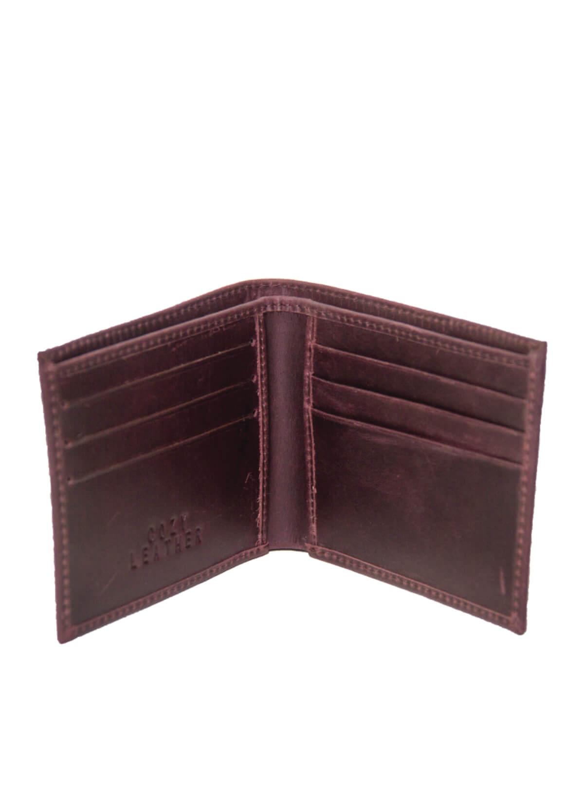 Cedar Brown Leather Wallet