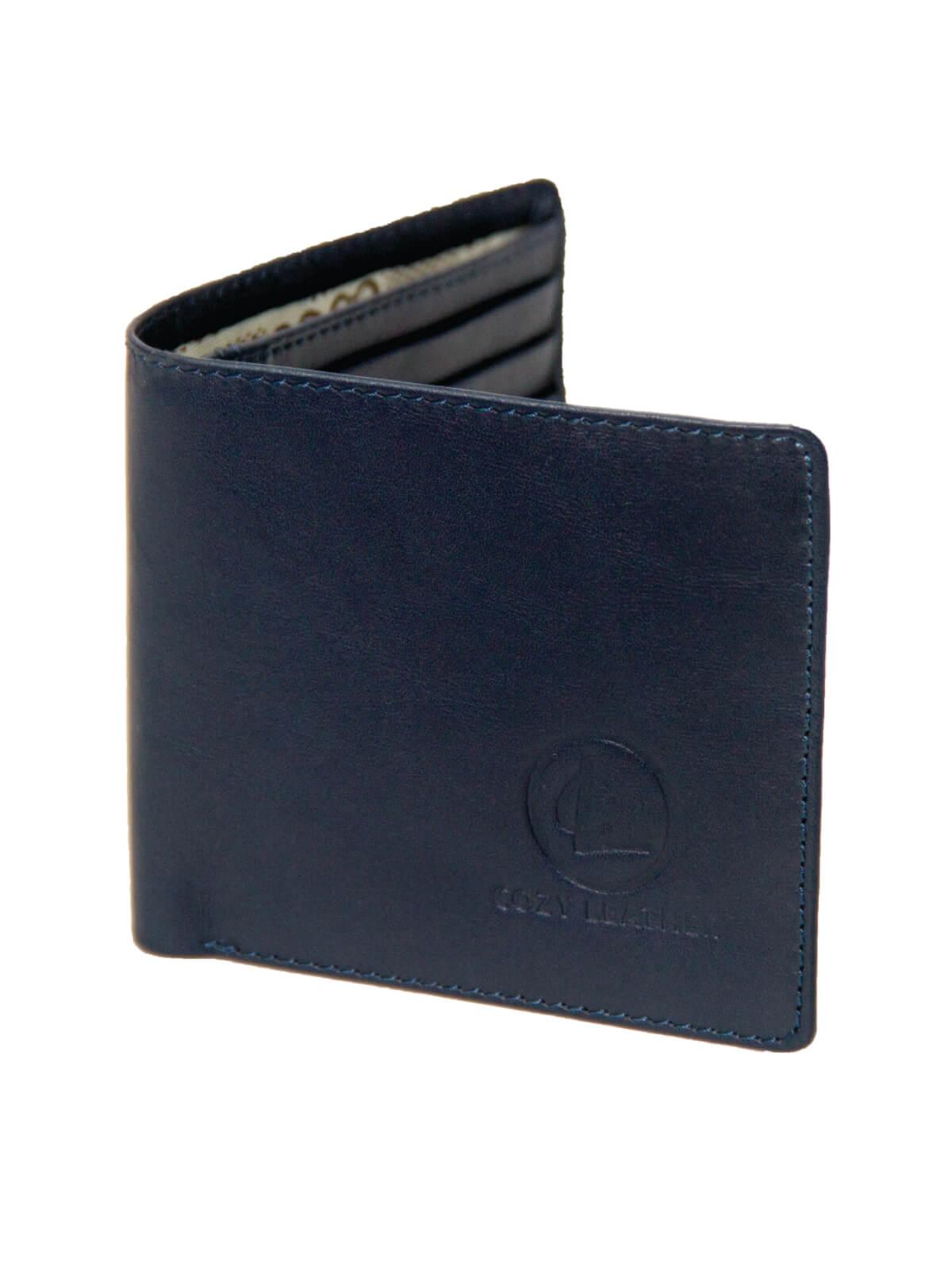 Tangaroa Blue Leather Wallet