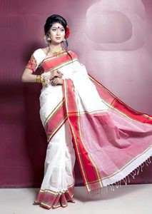 Tangail Pure Cotton Saree