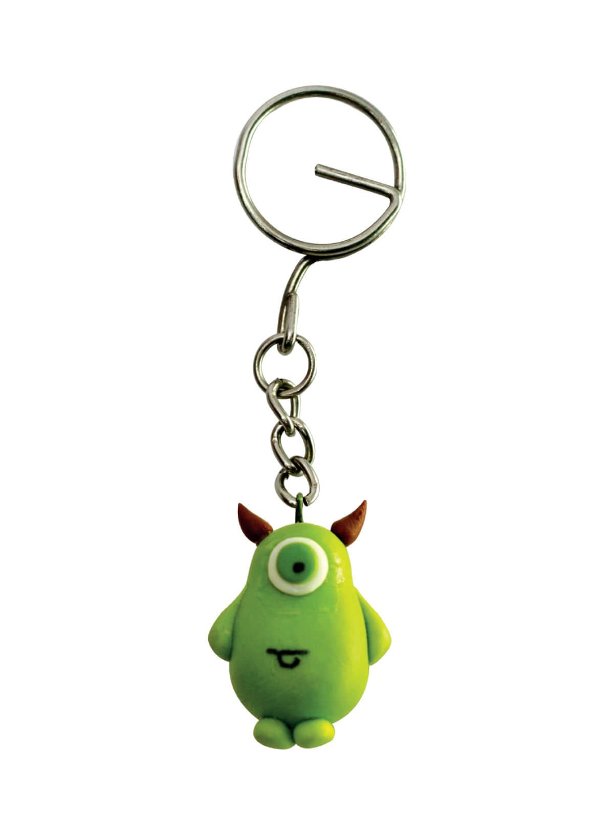 Green Cartoon Key Ring