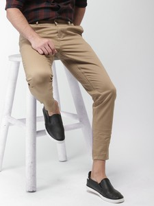 Offwhite Casual Gabardine Pant For Men