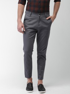 Ash Casual Gabardine Pant For Men