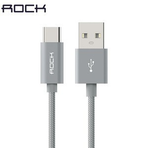 Rock Braided Cable(Micro USB/Type-C)-Short cable for powerbank