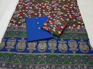 Cotton Kalamkari/Blue