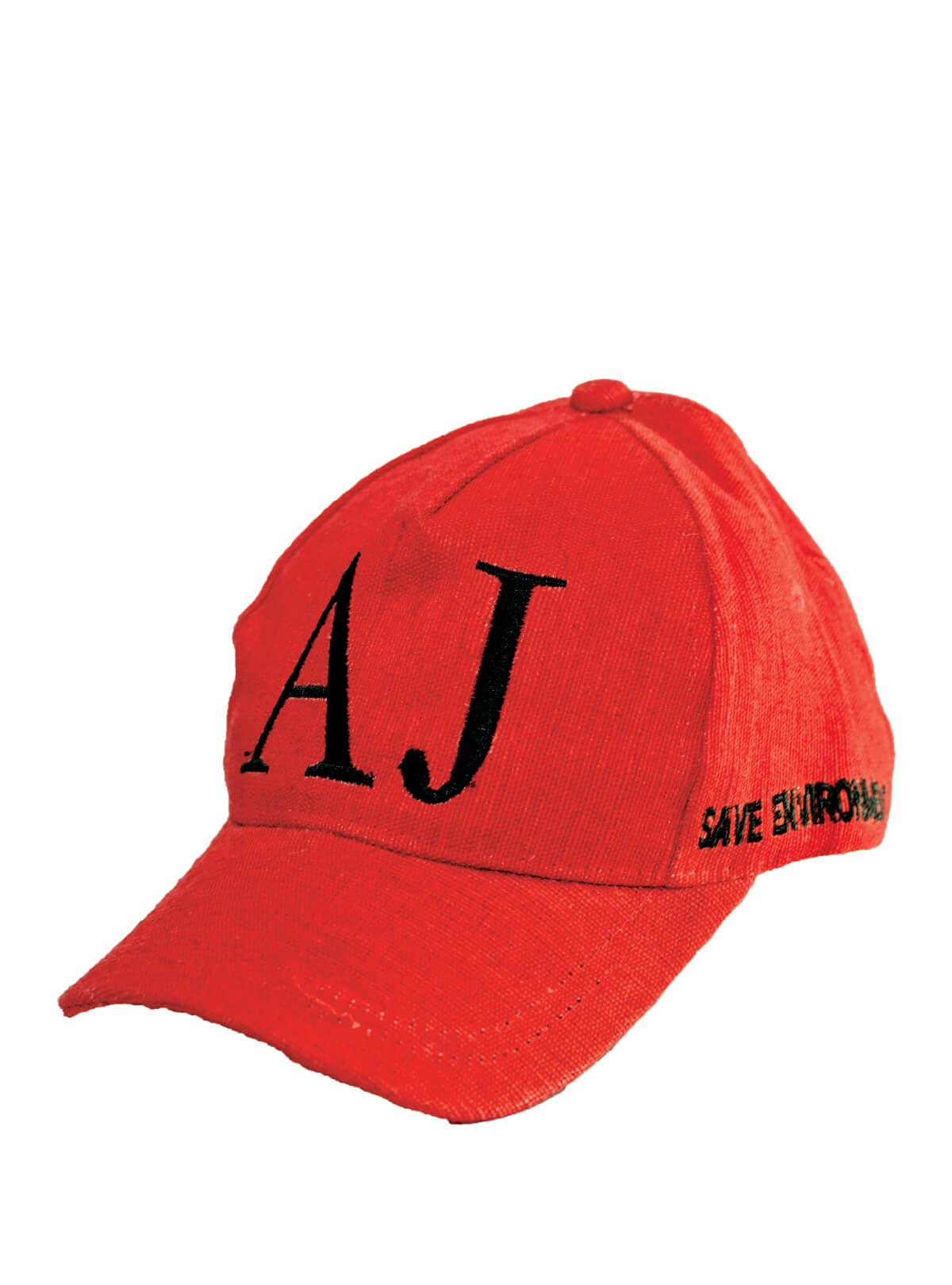 Persian Red Jute Cap For Men