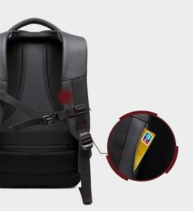 Ozuko USB+Anti Theft Lock Backpack with Rain cover and hoodie