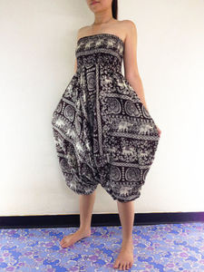 Lovebite Women Harem Long Pants Hippie Wide Leg Dance Palazzo
