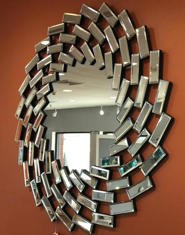 Decorative Spiral Prism Mirror