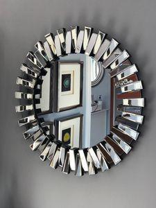 Decorative Prism Mirror With Silver Finish